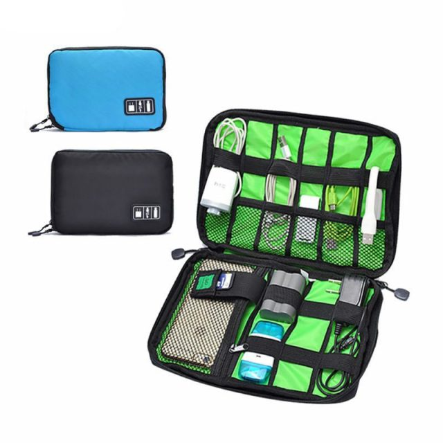 Waterproof Outdoor Electronic Accessories Travel Kit Bag