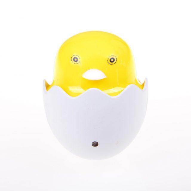 Cute Yellow Duck EU US Plug Wall Socket LED Night Light Lamp